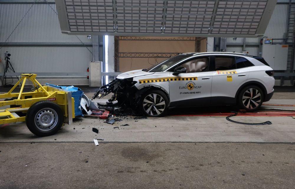 Frații electrici Skoda Enyaq iV și Volkswagen ID.4 au primit 5 stele la testele de siguranță Euro NCAP - Poza 18