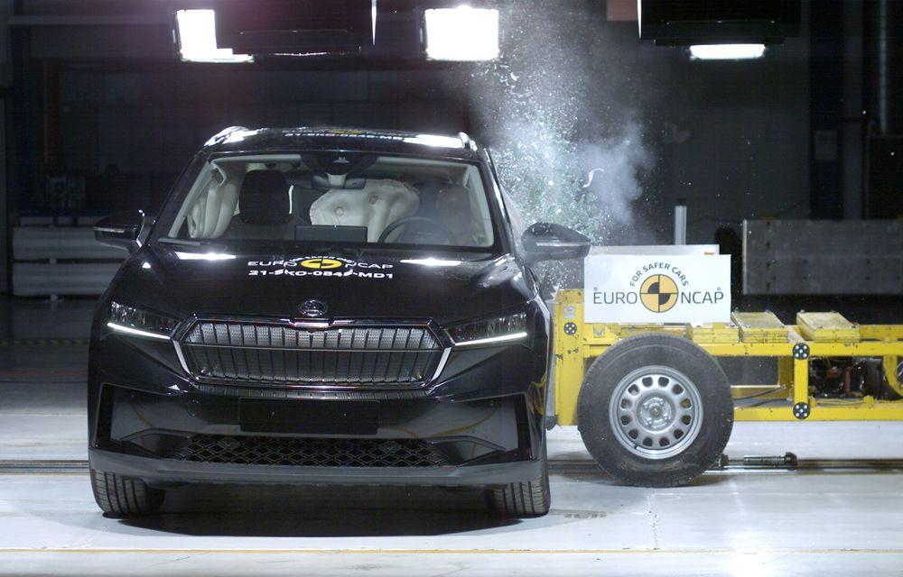Frații electrici Skoda Enyaq iV și Volkswagen ID.4 au primit 5 stele la testele de siguranță Euro NCAP - Poza 4