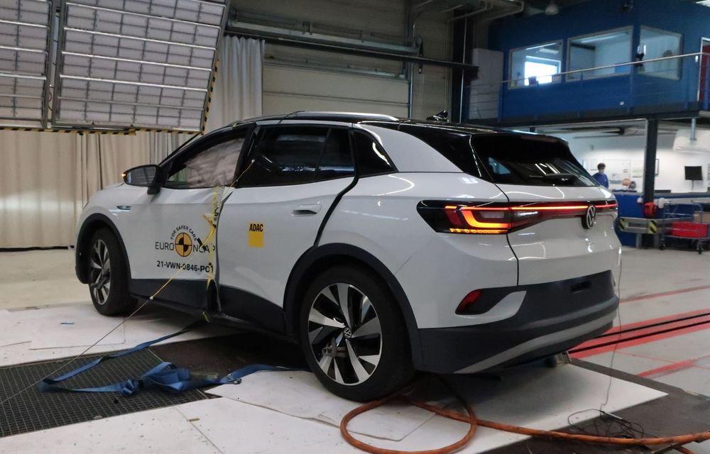 Frații electrici Skoda Enyaq iV și Volkswagen ID.4 au primit 5 stele la testele de siguranță Euro NCAP - Poza 15