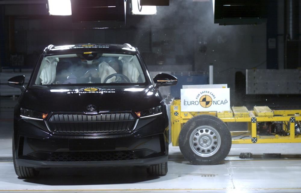 Frații electrici Skoda Enyaq iV și Volkswagen ID.4 au primit 5 stele la testele de siguranță Euro NCAP - Poza 2