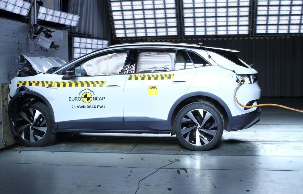 Frații electrici Skoda Enyaq iV și Volkswagen ID.4 au primit 5 stele la testele de siguranță Euro NCAP - Poza 17