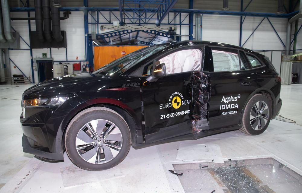 Frații electrici Skoda Enyaq iV și Volkswagen ID.4 au primit 5 stele la testele de siguranță Euro NCAP - Poza 9