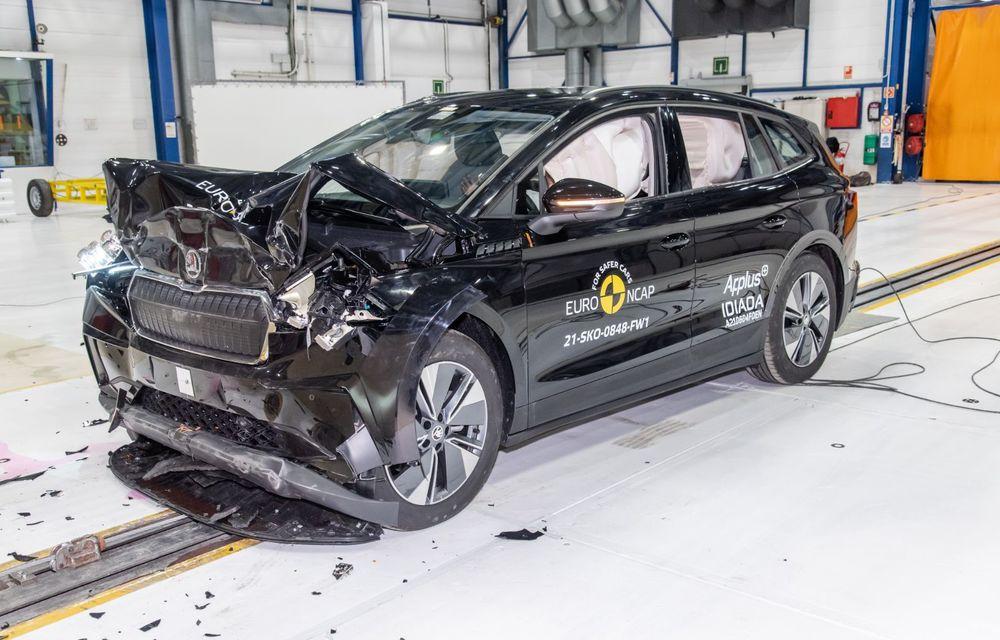 Frații electrici Skoda Enyaq iV și Volkswagen ID.4 au primit 5 stele la testele de siguranță Euro NCAP - Poza 6