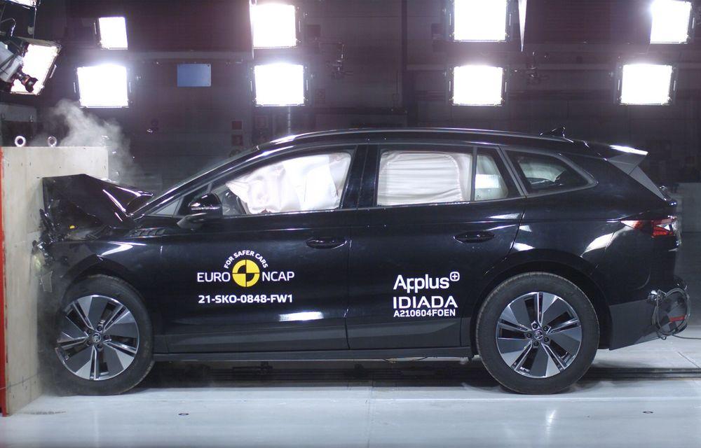 Frații electrici Skoda Enyaq iV și Volkswagen ID.4 au primit 5 stele la testele de siguranță Euro NCAP - Poza 7