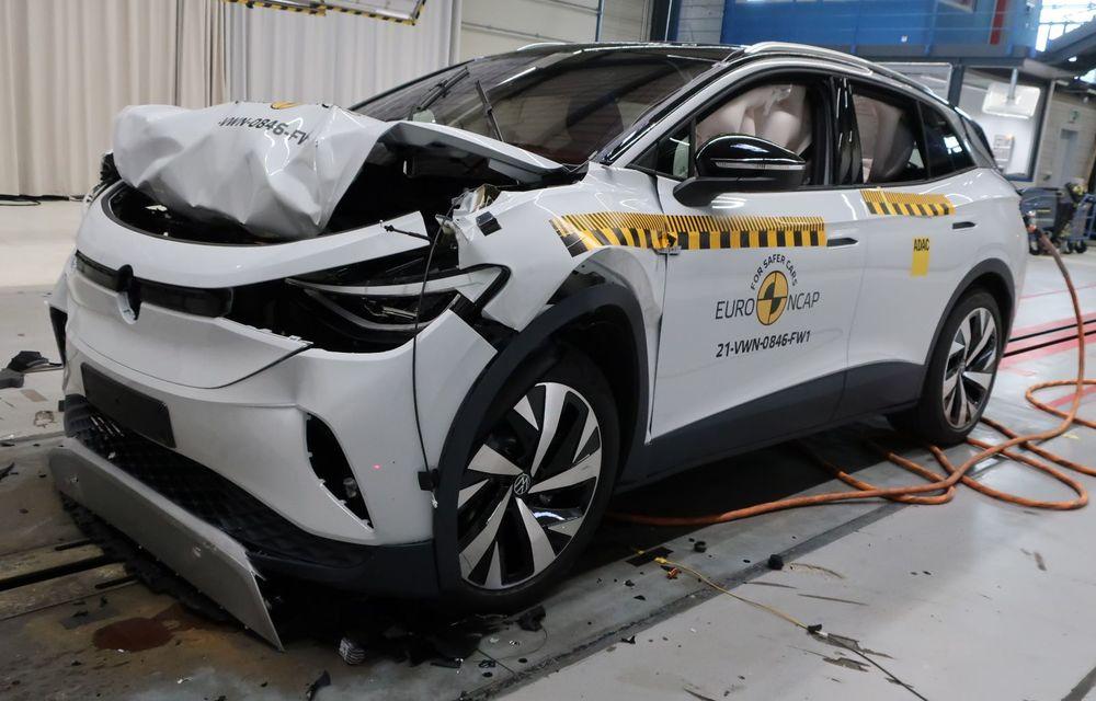 Frații electrici Skoda Enyaq iV și Volkswagen ID.4 au primit 5 stele la testele de siguranță Euro NCAP - Poza 16