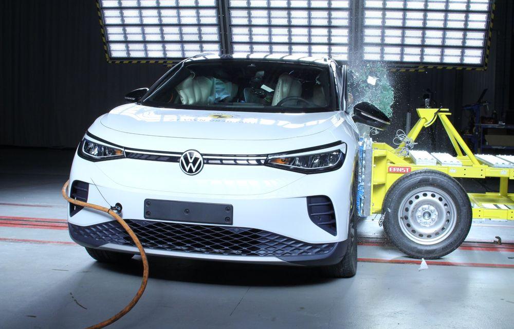 Frații electrici Skoda Enyaq iV și Volkswagen ID.4 au primit 5 stele la testele de siguranță Euro NCAP - Poza 11