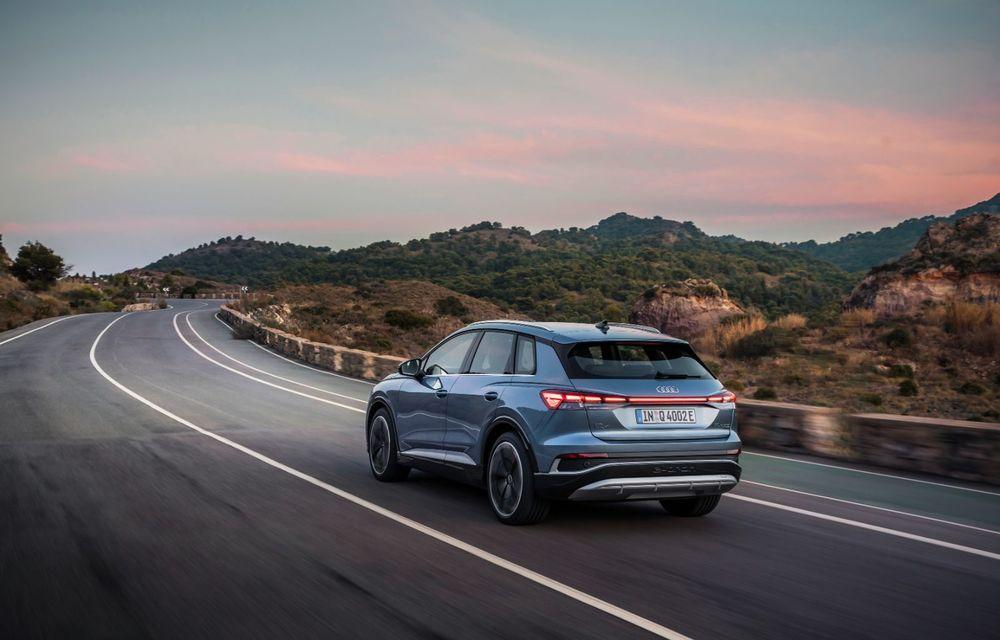OFICIAL: Audi Q4 e-tron și Q4 e-tron Sportback sunt 100% electrice și promit 520 de kilometri autonomie - Poza 2