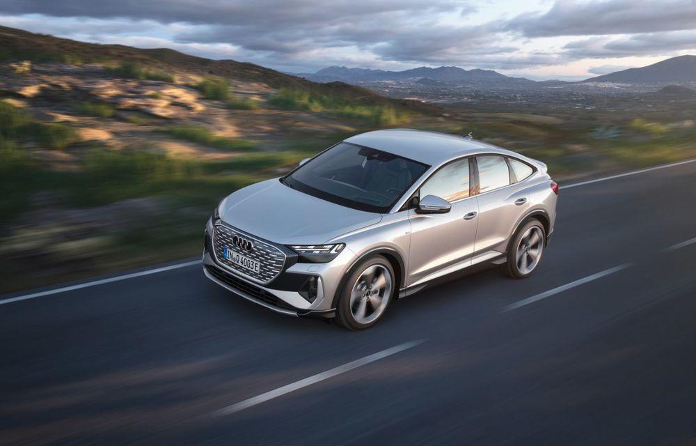 OFICIAL: Audi Q4 e-tron și Q4 e-tron Sportback sunt 100% electrice și promit 520 de kilometri autonomie - Poza 17