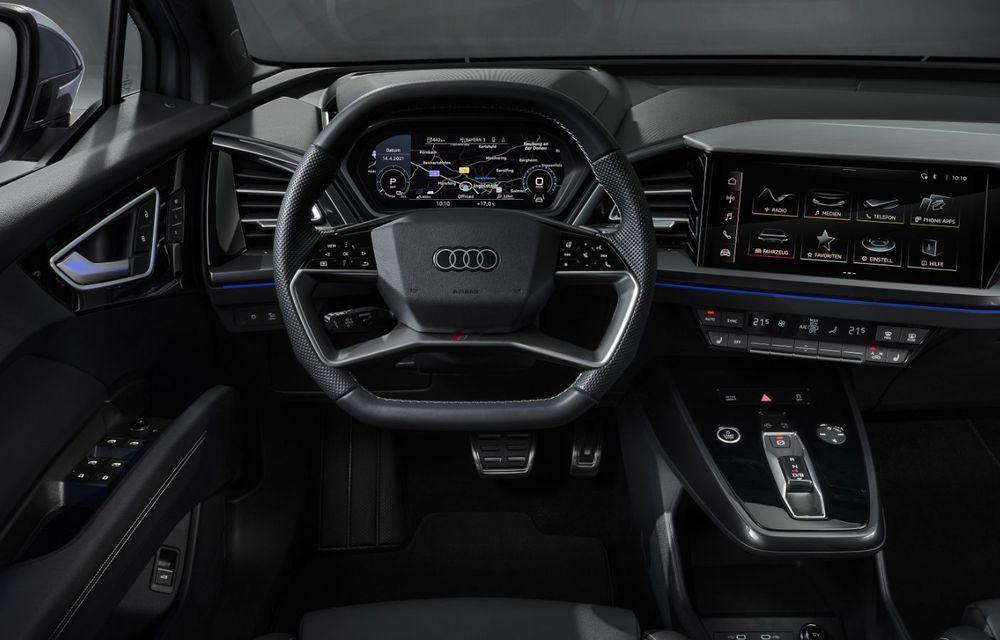 OFICIAL: Audi Q4 e-tron și Q4 e-tron Sportback sunt 100% electrice și promit 520 de kilometri autonomie - Poza 28