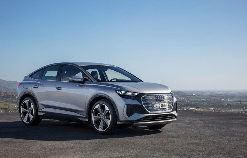 OFICIAL: Audi Q4 e-tron și Q4 e-tron Sportback sunt 100% electrice și promit 520 de kilometri autonomie - Poza 10