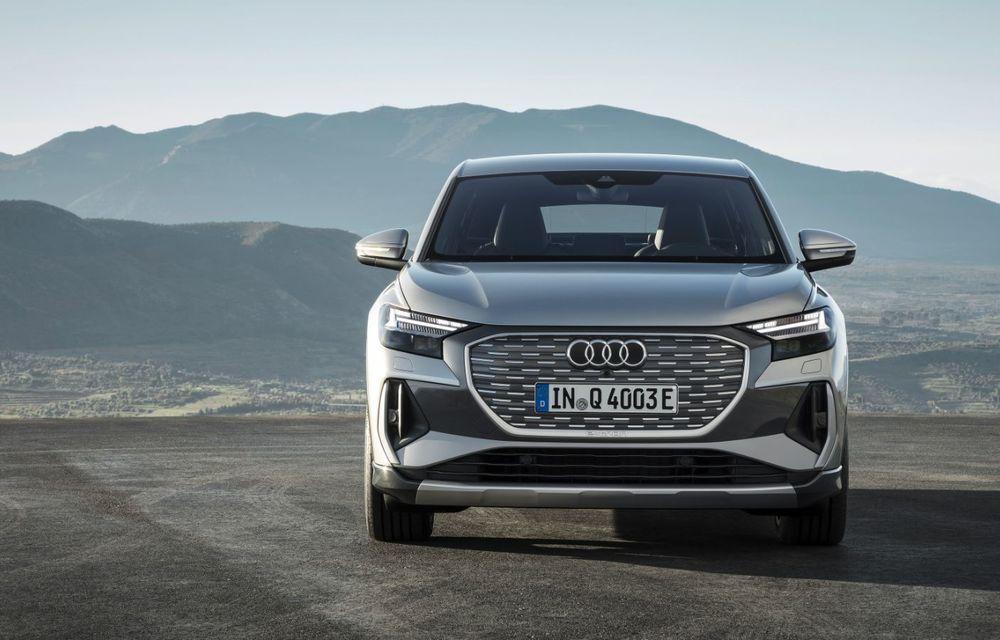 OFICIAL: Audi Q4 e-tron și Q4 e-tron Sportback sunt 100% electrice și promit 520 de kilometri autonomie - Poza 15