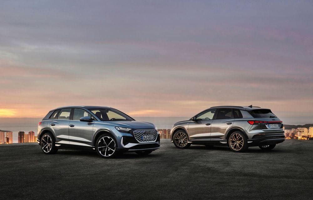 OFICIAL: Audi Q4 e-tron și Q4 e-tron Sportback sunt 100% electrice și promit 520 de kilometri autonomie - Poza 9