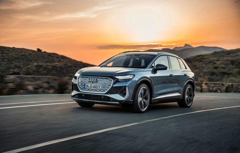OFICIAL: Audi Q4 e-tron și Q4 e-tron Sportback sunt 100% electrice și promit 520 de kilometri autonomie - Poza 4