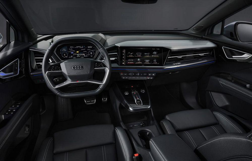 OFICIAL: Audi Q4 e-tron și Q4 e-tron Sportback sunt 100% electrice și promit 520 de kilometri autonomie - Poza 29