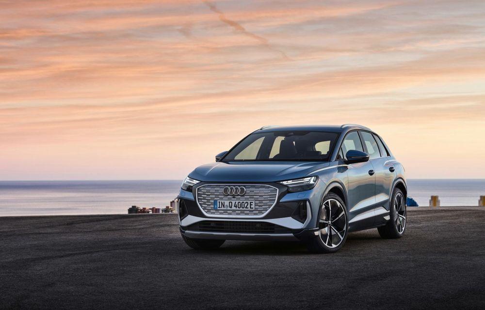 OFICIAL: Audi Q4 e-tron și Q4 e-tron Sportback sunt 100% electrice și promit 520 de kilometri autonomie - Poza 7