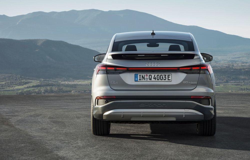 OFICIAL: Audi Q4 e-tron și Q4 e-tron Sportback sunt 100% electrice și promit 520 de kilometri autonomie - Poza 16