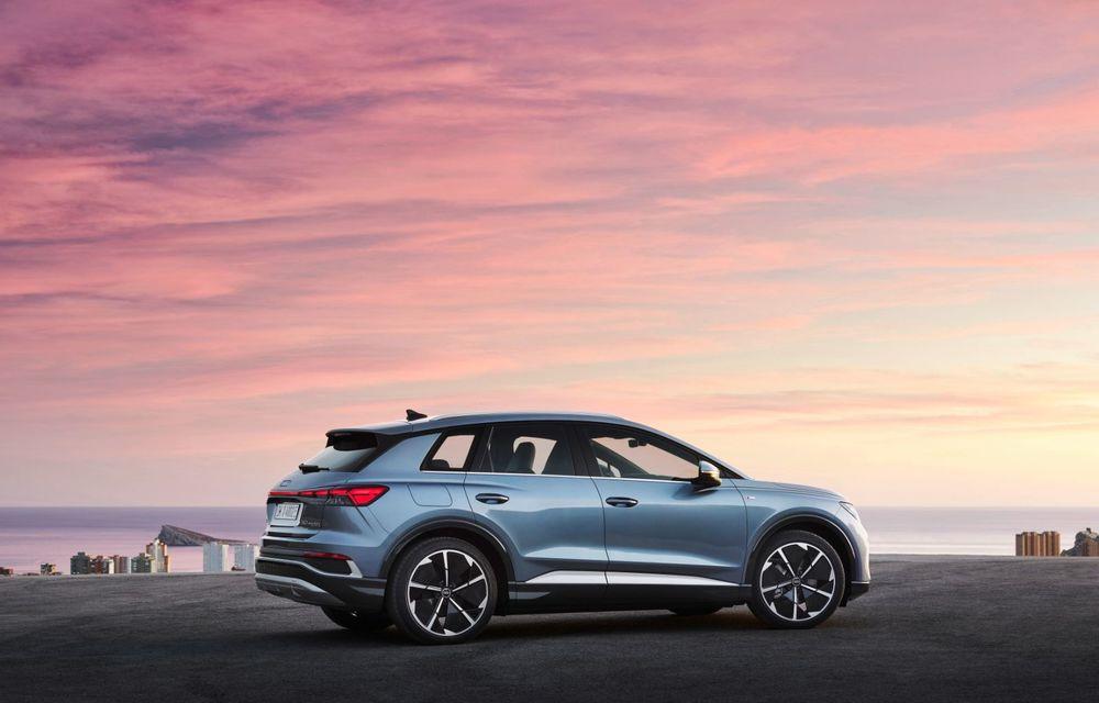 OFICIAL: Audi Q4 e-tron și Q4 e-tron Sportback sunt 100% electrice și promit 520 de kilometri autonomie - Poza 5