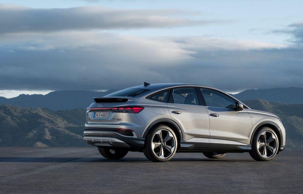 OFICIAL: Audi Q4 e-tron și Q4 e-tron Sportback sunt 100% electrice și promit 520 de kilometri autonomie - Poza 14