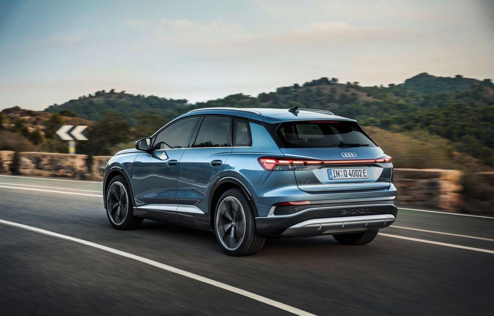 OFICIAL: Audi Q4 e-tron și Q4 e-tron Sportback sunt 100% electrice și promit 520 de kilometri autonomie - Poza 6