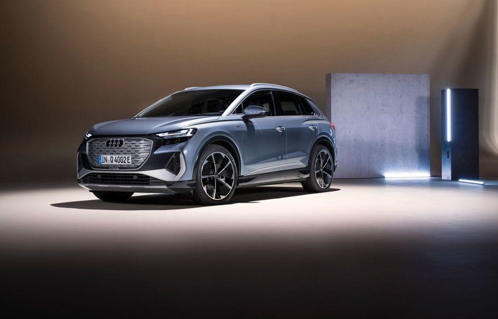 OFICIAL: Audi Q4 e-tron și Q4 e-tron Sportback sunt 100% electrice și promit 520 de kilometri autonomie - Poza 21