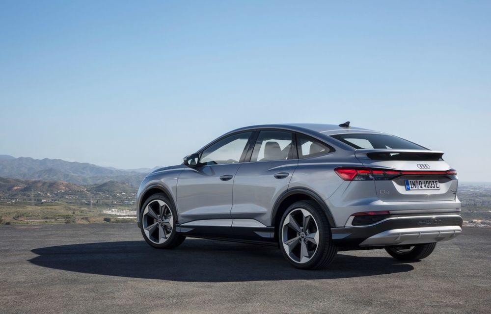 OFICIAL: Audi Q4 e-tron și Q4 e-tron Sportback sunt 100% electrice și promit 520 de kilometri autonomie - Poza 11