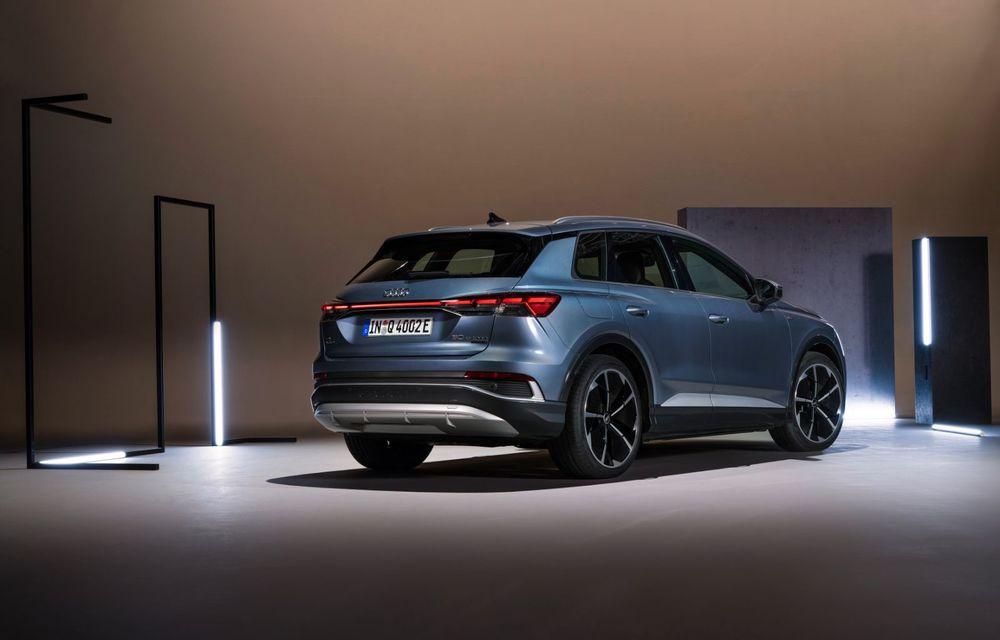 OFICIAL: Audi Q4 e-tron și Q4 e-tron Sportback sunt 100% electrice și promit 520 de kilometri autonomie - Poza 20