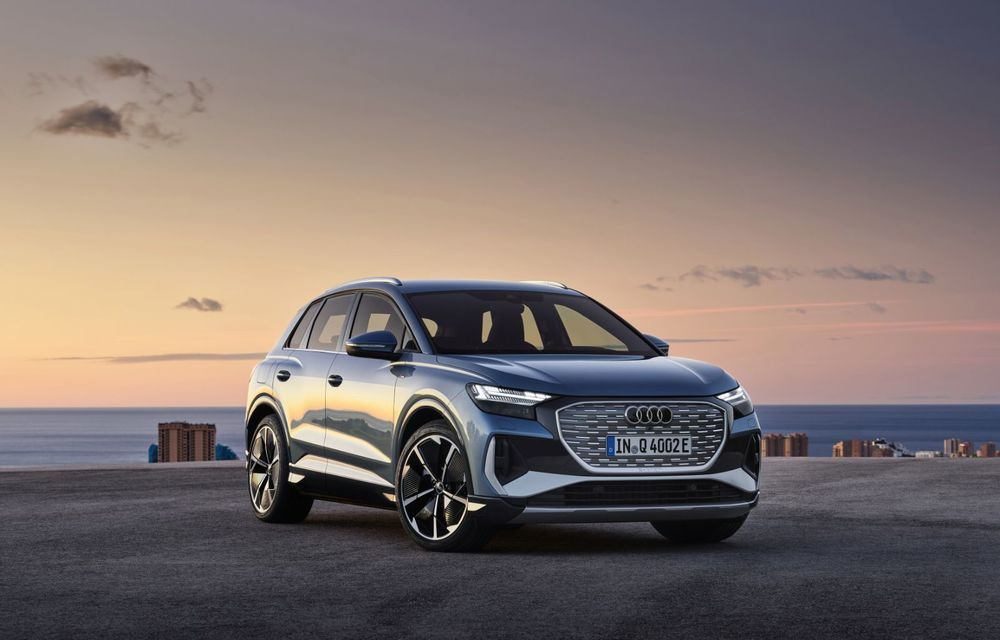 OFICIAL: Audi Q4 e-tron și Q4 e-tron Sportback sunt 100% electrice și promit 520 de kilometri autonomie - Poza 3