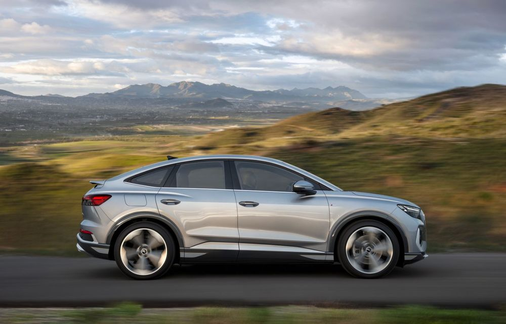 OFICIAL: Audi Q4 e-tron și Q4 e-tron Sportback sunt 100% electrice și promit 520 de kilometri autonomie - Poza 18