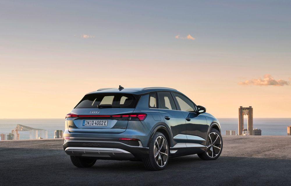 OFICIAL: Audi Q4 e-tron și Q4 e-tron Sportback sunt 100% electrice și promit 520 de kilometri autonomie - Poza 8