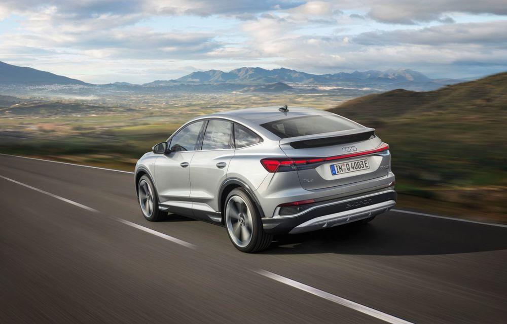 OFICIAL: Audi Q4 e-tron și Q4 e-tron Sportback sunt 100% electrice și promit 520 de kilometri autonomie - Poza 19