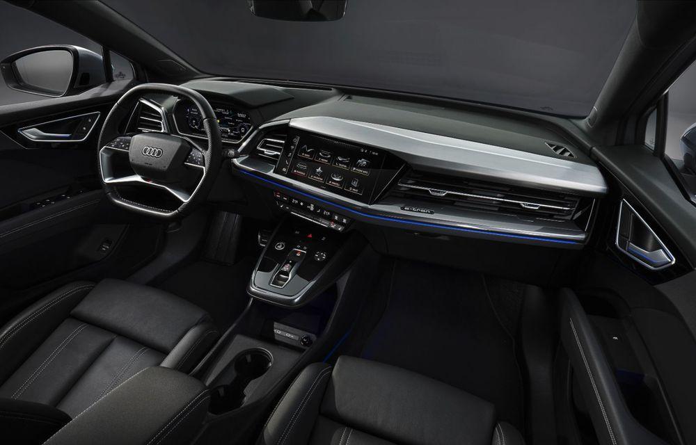 OFICIAL: Audi Q4 e-tron și Q4 e-tron Sportback sunt 100% electrice și promit 520 de kilometri autonomie - Poza 31