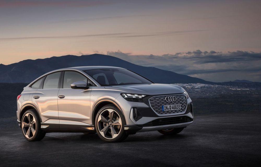 OFICIAL: Audi Q4 e-tron și Q4 e-tron Sportback sunt 100% electrice și promit 520 de kilometri autonomie - Poza 12