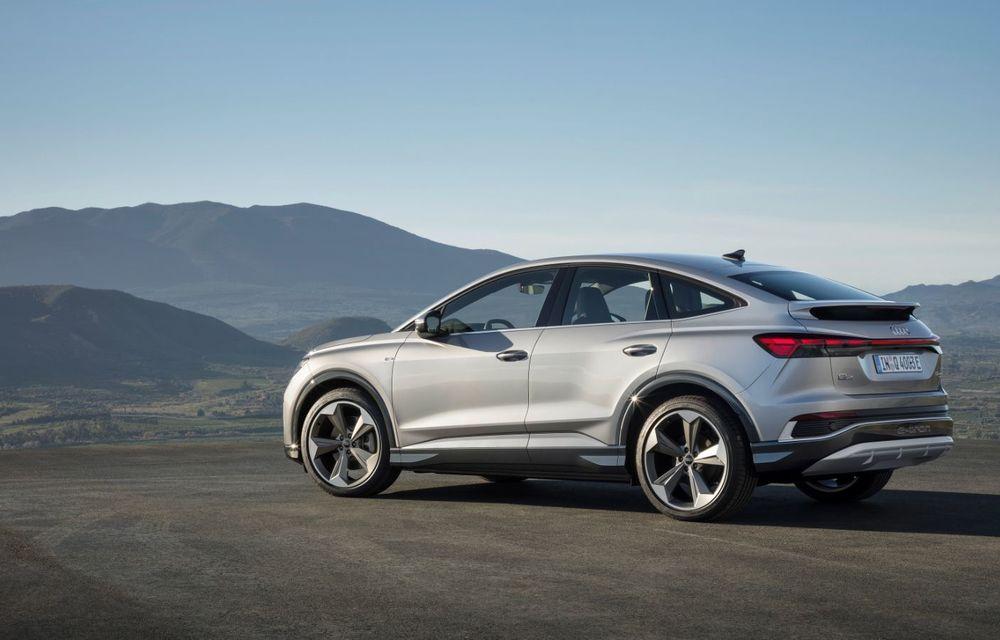 OFICIAL: Audi Q4 e-tron și Q4 e-tron Sportback sunt 100% electrice și promit 520 de kilometri autonomie - Poza 13