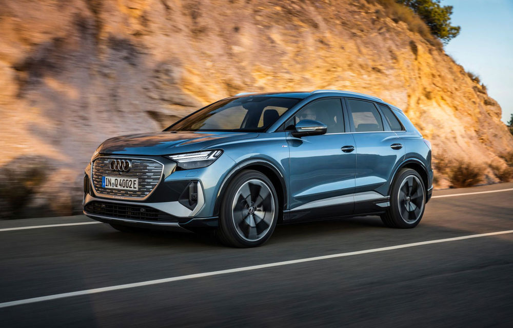 OFICIAL: Audi Q4 e-tron și Q4 e-tron Sportback sunt 100% electrice și promit 520 de kilometri autonomie - Poza 1