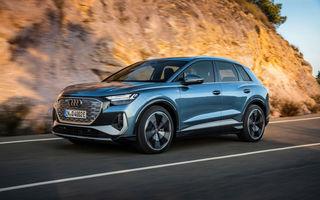 OFICIAL: Audi Q4 e-tron și Q4 e-tron Sportback sunt 100% electrice și promit 520 de kilometri autonomie