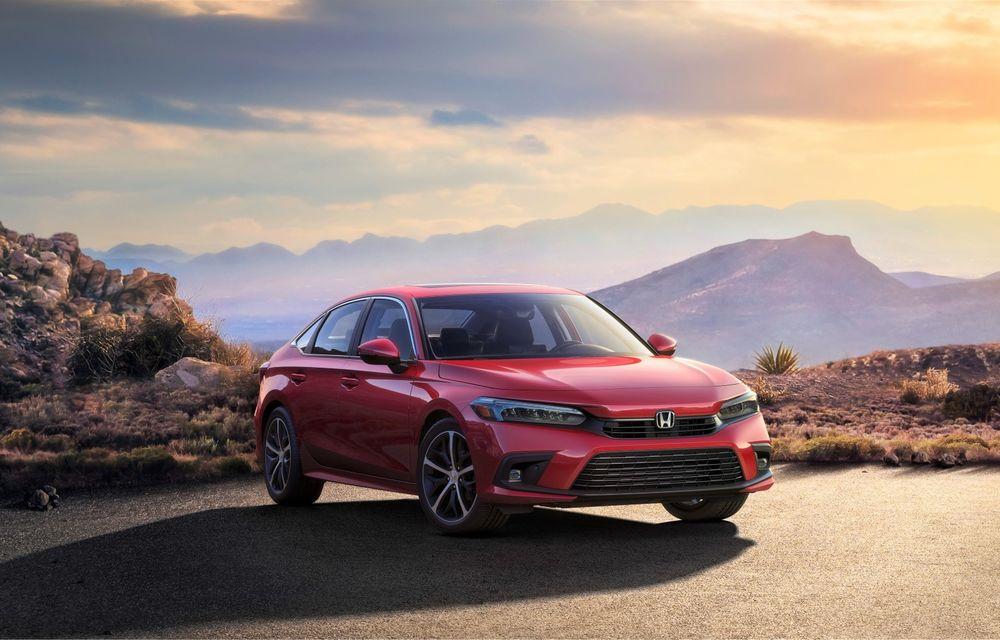 Prima imagine cu noua generație Honda Civic. Debutează în Statele Unite în 28 aprilie - Poza 1