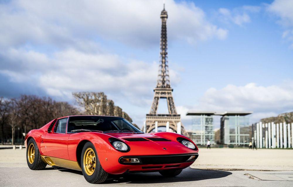 Lamborghini Miura SV la aniversare: modelul italian a debutat în urmă cu 50 de ani - Poza 1