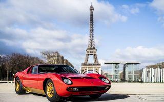 Lamborghini Miura SV la aniversare: modelul italian a debutat în urmă cu 50 de ani