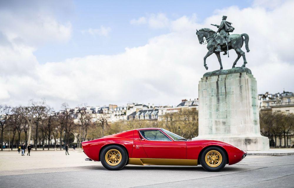Lamborghini Miura SV la aniversare: modelul italian a debutat în urmă cu 50 de ani - Poza 8