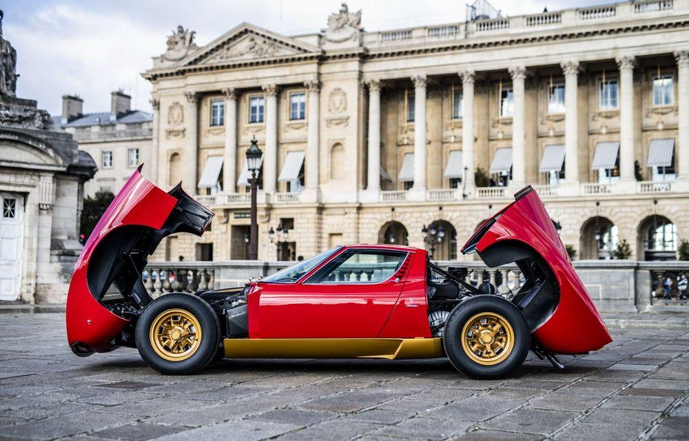 Lamborghini Miura SV la aniversare: modelul italian a debutat în urmă cu 50 de ani - Poza 11