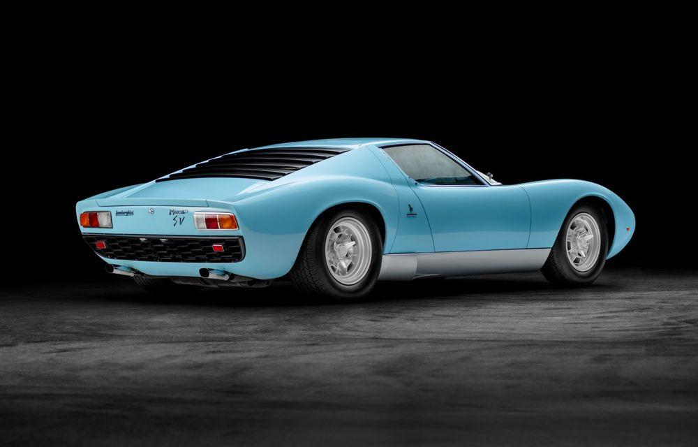 Lamborghini Miura SV la aniversare: modelul italian a debutat în urmă cu 50 de ani - Poza 5