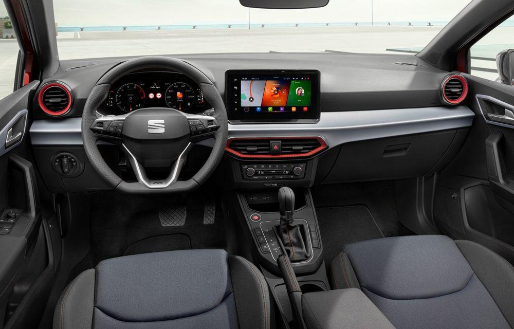 Seat a prezentat Ibiza facelift: modificări de design, noutăți la interior și motorizări pe benzină - Poza 11