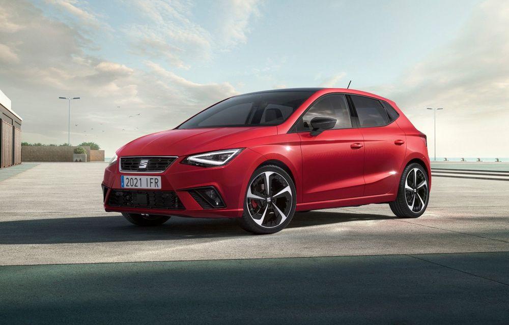 Seat a prezentat Ibiza facelift: modificări de design, noutăți la interior și motorizări pe benzină - Poza 1