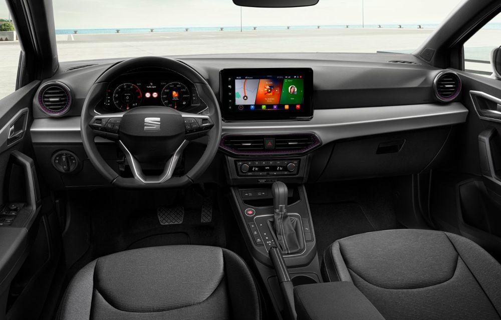 Seat a prezentat Ibiza facelift: modificări de design, noutăți la interior și motorizări pe benzină - Poza 16