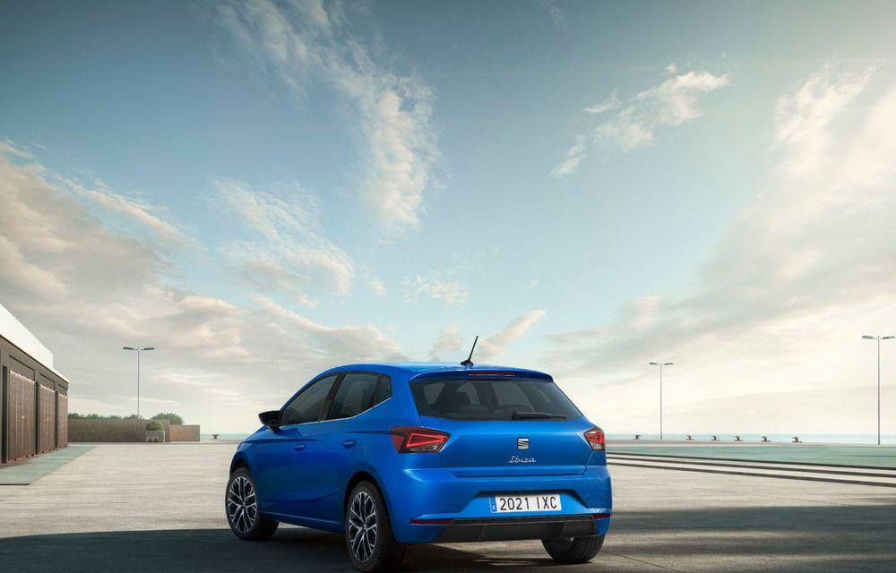 Seat a prezentat Ibiza facelift: modificări de design, noutăți la interior și motorizări pe benzină - Poza 15