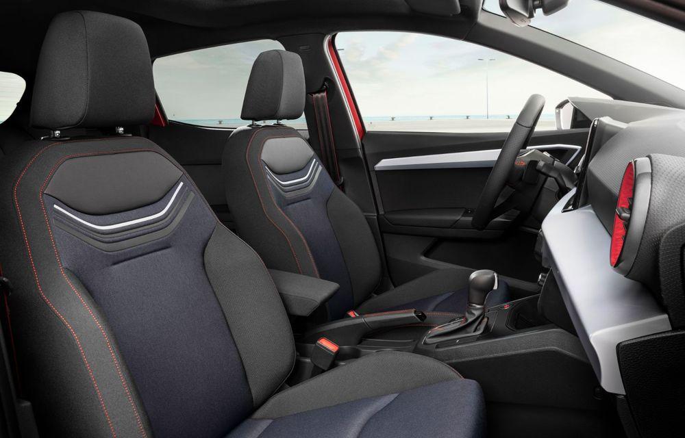 Seat a prezentat Ibiza facelift: modificări de design, noutăți la interior și motorizări pe benzină - Poza 12