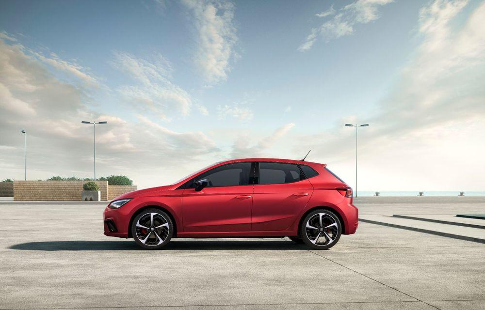 Seat a prezentat Ibiza facelift: modificări de design, noutăți la interior și motorizări pe benzină - Poza 5