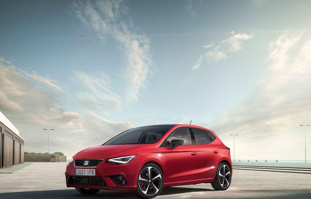 Seat a prezentat Ibiza facelift: modificări de design, noutăți la interior și motorizări pe benzină - Poza 2