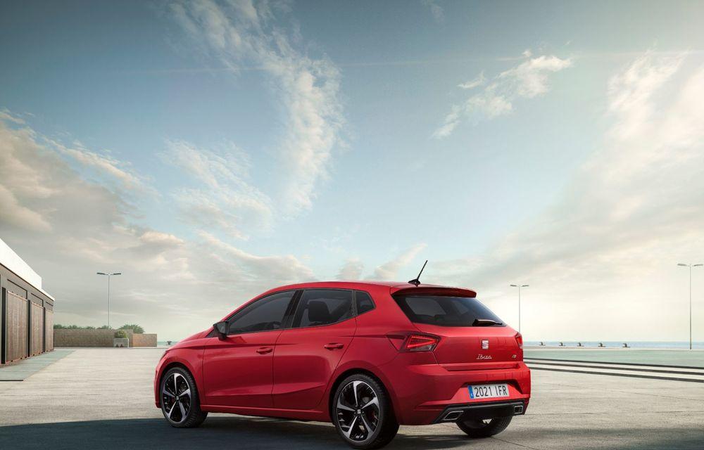 Seat a prezentat Ibiza facelift: modificări de design, noutăți la interior și motorizări pe benzină - Poza 7