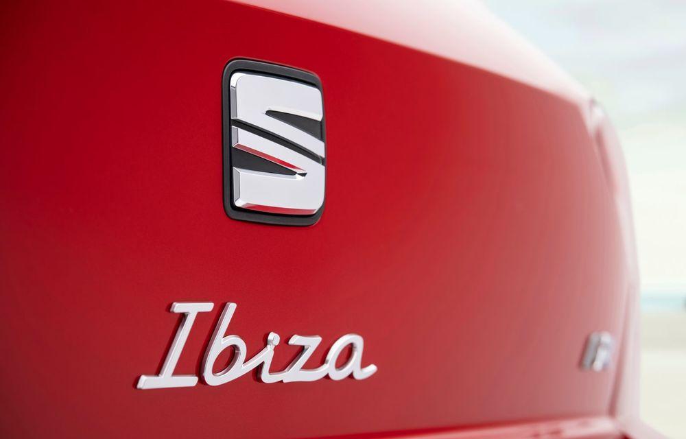 Seat a prezentat Ibiza facelift: modificări de design, noutăți la interior și motorizări pe benzină - Poza 10